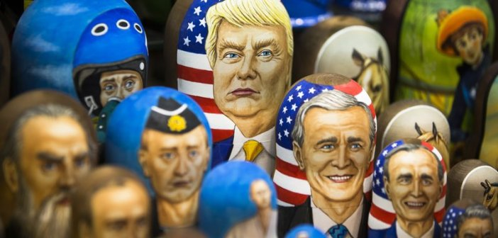 Trump Russian nesting dolls