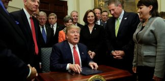 Trump signs WOTUS
