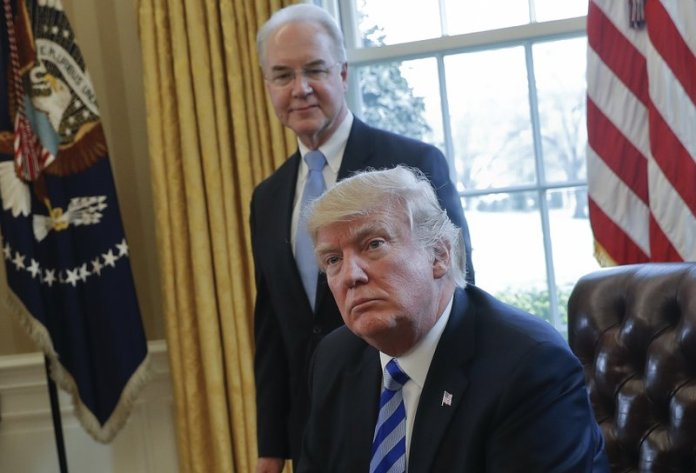 Donald Trump and Tom Price