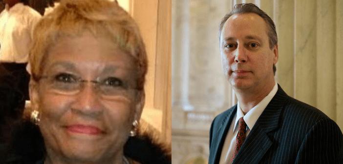 Eileen Jones and Steve Pelham