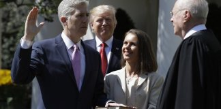 Neil Gorsuch sworn in