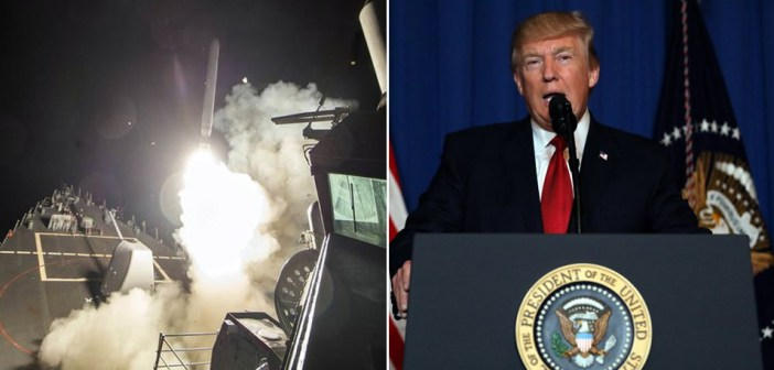 airstrikes Donald Trump