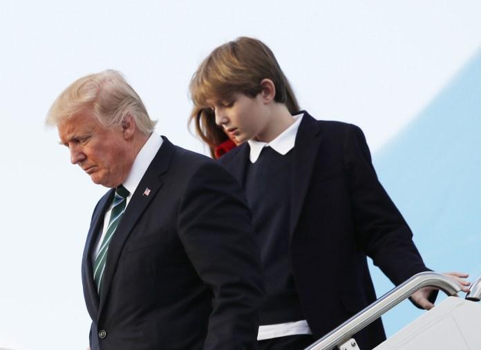 First Family Trump Barron Melania