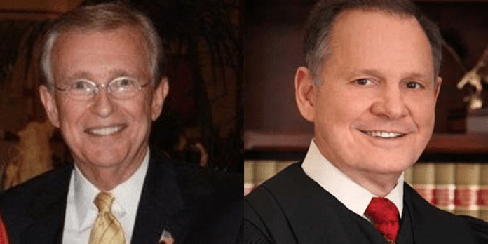 Bill Armistead and Roy Moore
