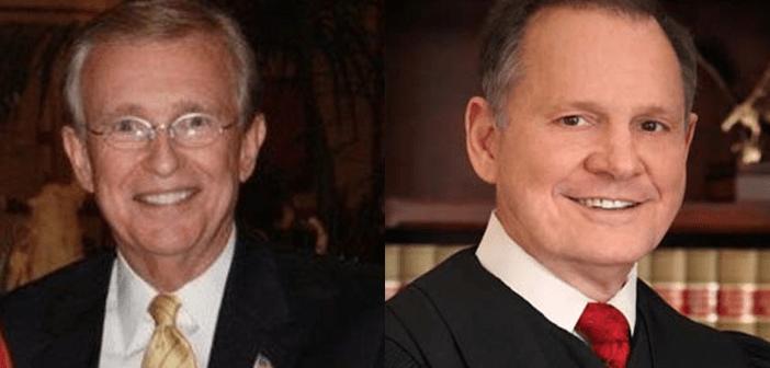 Bill Armistead and Roy Moore