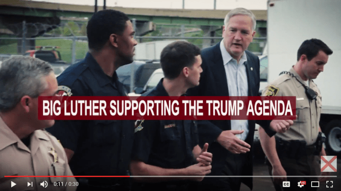 Luther Strange ad