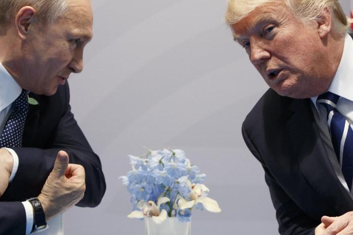 Donald Trump_Vladimir Putin