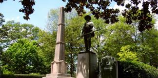 Confederate Memorial in Linn Park