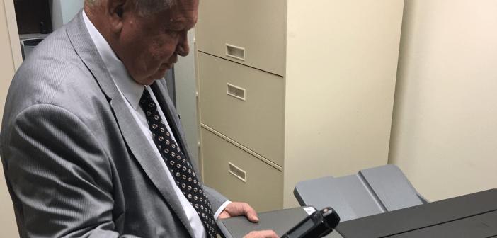 Jim Zeigler trains field audit
