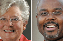 Kay Ivey and Quinton Ross