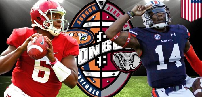 Alabama and Auburn_Iron Bowl