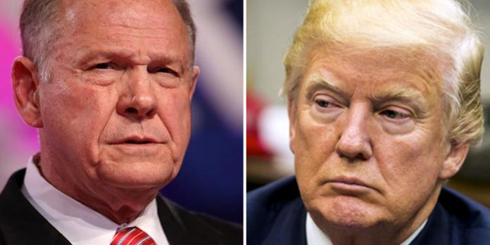 Roy Moore-Donald Trump