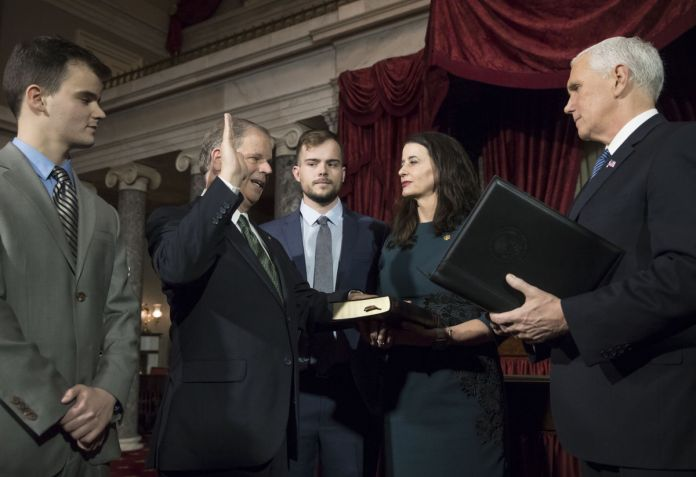 Doug Jones swearing-in