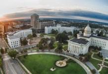 Montgomery Alabama cityscape