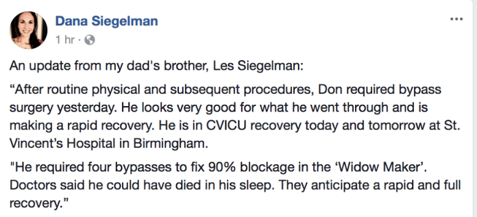 Don Siegelman update
