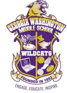 Georgia Washington Middle School logo