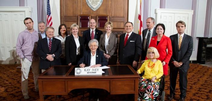 Ivey bill signing