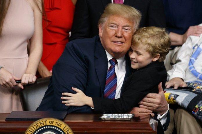 Donald Trump / kid