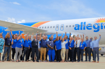 Allegiant Air in Mobile