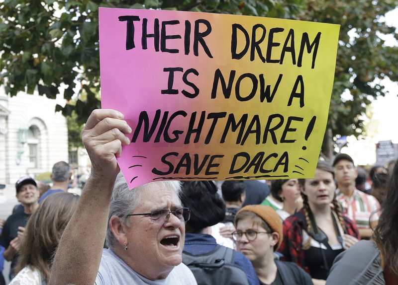 Appeals court to weigh President Trump's decision to end DACA
