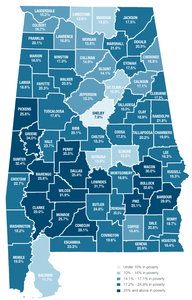 Poverty rate in Alabama_2018