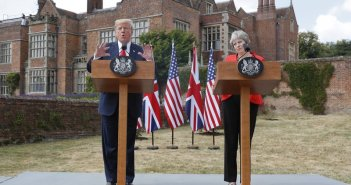 Donald Trump_Theresa May