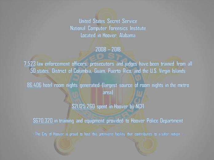 U.S. Secret Service National Computer Forensics Institute_Hoover stats