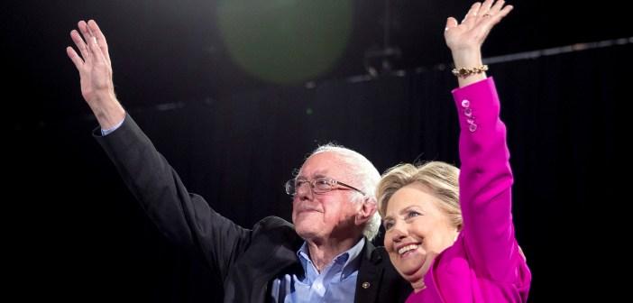 Hillary Clinton, Bernie Sanders