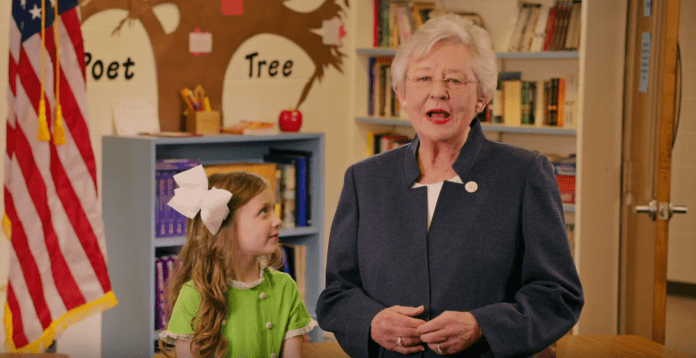 Kay Ivey education ad