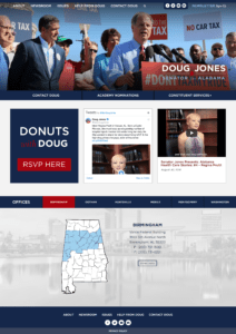 Doug Jones website