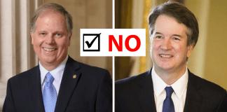 Doug Jones_Brett Kavanaugh No Vote