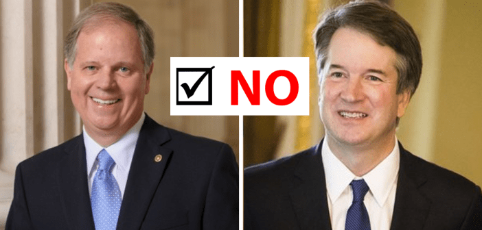 Doug Jones_Brett Kavanaugh No Vote