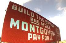 1-10 Mobile River Bridge billboard