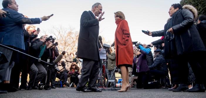 Donald Trump bickers with Dem leaders, threatens gov't shutdown