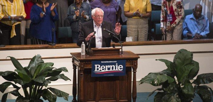 Bernie Sanders makes appeal to Deep South black voters in Birmingham and Montgomery