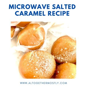 Microwave Salted Caramel Recipe