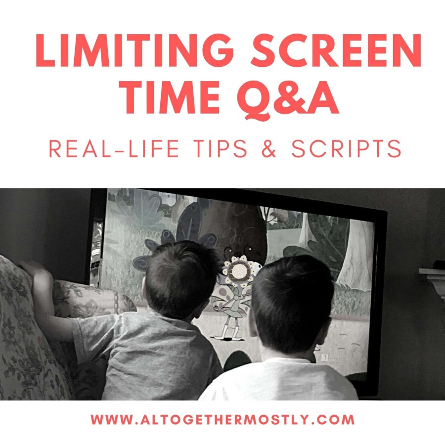 Limiting Screen Time