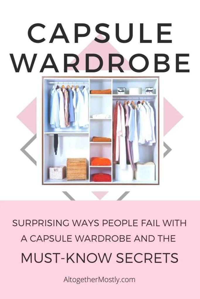 capsule wardrobe secrets