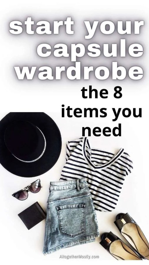 items to start a capsule wardrobe
