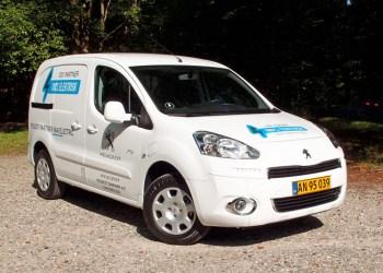 Peugeot Partner van Electric kan alt det, en dieseldrevet Partner kan - bare renere - hvis du ikke skal køre over 100 km om dagen