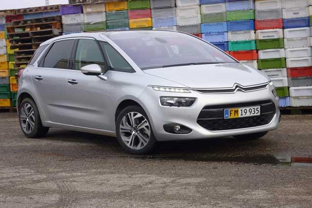 Citroën C4 Picasso Van er elegant og praktisk