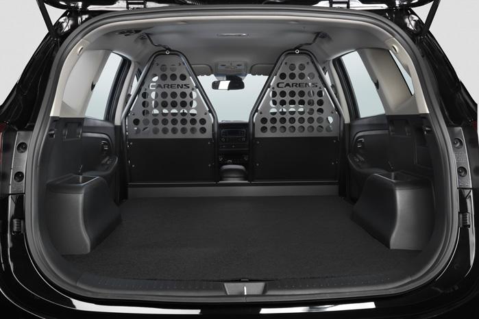 Kia indførte med cee'd van en tradition for gennemført varerumsopbygning i deres ombyggede personbiler. Den holder de fast i