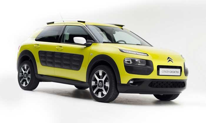 Citroën C4 Cactus er født med bløde, runde former