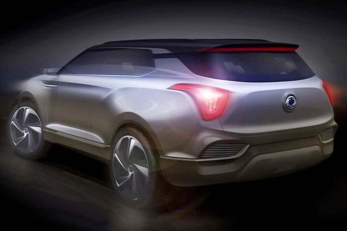 SsangYong XLV-konceptet får verdenspremiere i Genève om et par uger. Bilen er en fortsættelse af det tidligere viste eXIV-koncept i Paris 2012.
