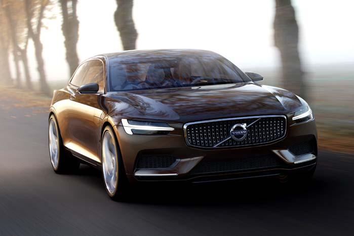 Selvom vinklen får den nyeste konceptbil fra Volvo til at ligne en coupé-model, er der tale om en strømlinet stationcar.