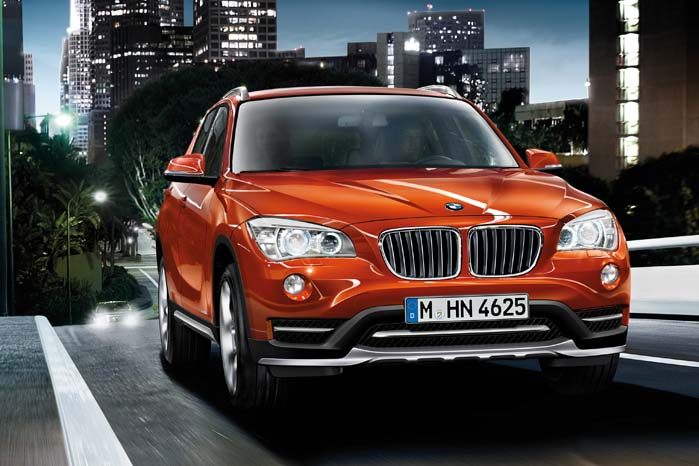BMW's 4-hjustrukne strækker over fem modeller fra X1 ...