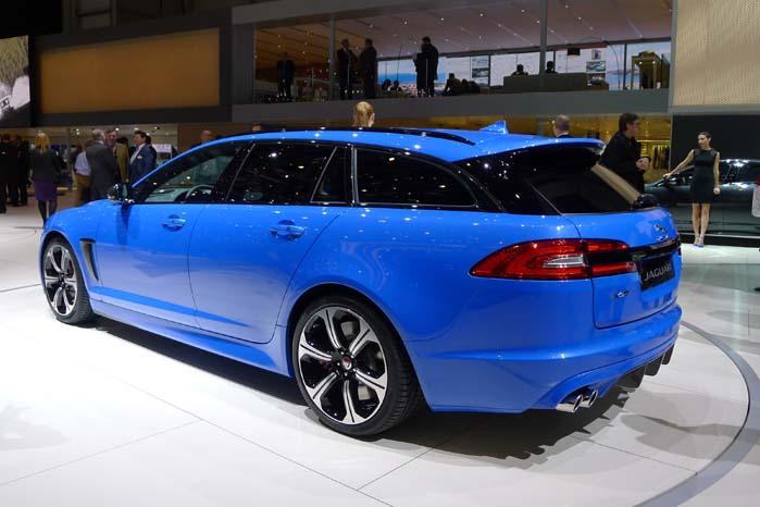 Så er den officiel, Jaguars nye XFR-S Sportbrake med en kompressordrevet 550 hk, 5,0 liter stor V8-motor, som leverer 680 Nm.