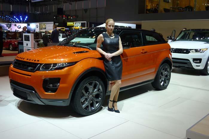 Land Rover præsenterer i Genève foruden en jubilæumsudgave af Discovery også en Autobiography-version af den populære Evoque-model. Den kommer ligeledes til Danmark, men først omkring september.