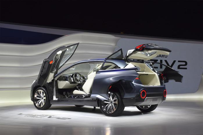 Anskudte mågevinger og skydedøre er den slags eksperimenter, der kun eksisterer på konceptbiler
