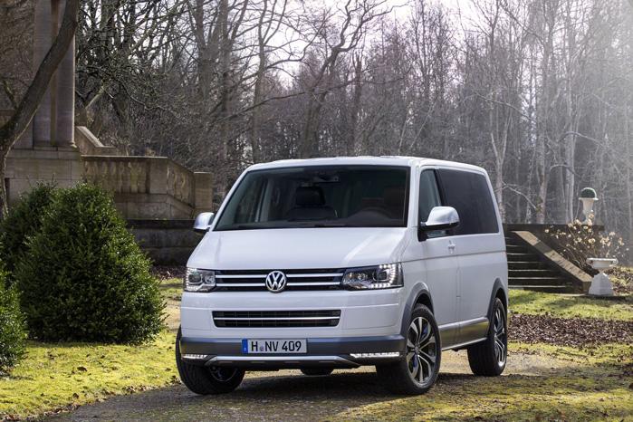 En meget præsentabel VW Multivan med LED-lys og smarte beskyttelseslister skal føre arven videre